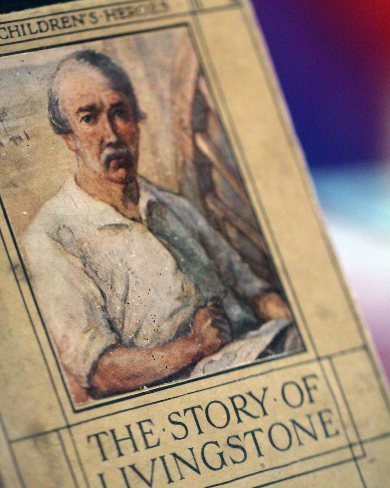 Book Cover - The Story of Livingstone