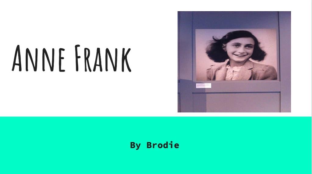 Anne Frank-by Brodie