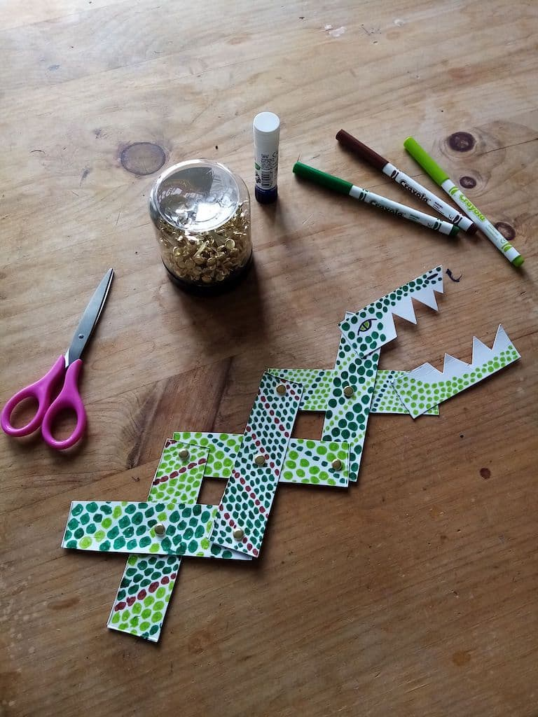 Try Making Your Own Snapping Crocodile!