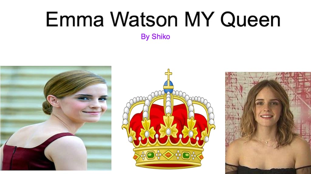 Emma Watson By Shiko