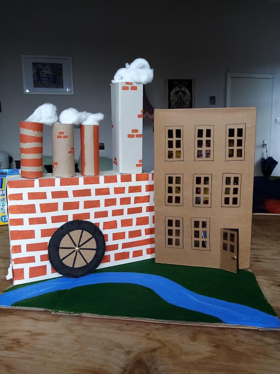 Built Mill Model