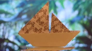 Make Your Own Origami Boat