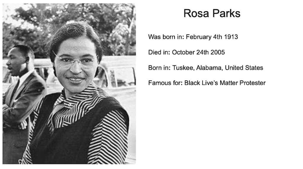 Rosa Parks by Euan