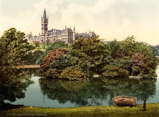 University of Glasgow, circa 1895